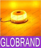 240 LED Faro de luz VEHÍCULO DE EMERGENCIA MAGNÉTICA luz de advertencia STROBE AMBAR GLO380 libre del envío