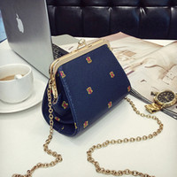 Wholesale New Mini Shell Bag Chain Bag Lady One Shoulder Bag His Mobile Phone Female Bag Drop Shipping