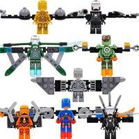 Wholesale SY605 Super Heroes Avengers Minifigures Iron Man Mark Building Blocks Sets Model Bricks Toys Figures For Children