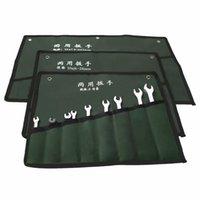 Wholesale 2015 PC Storage Bags Organiser Tool Kit Multi function Canvas Wrench Pocket Bag