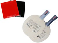 Wholesale 2pcs Table Tennis Blade for Trainning with rubbers