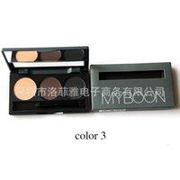 Wholesale MYBOON three color B13 waterproof anti sweat double eyebrow eyebrow with the eyebrow brush cosmetics