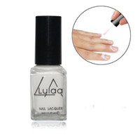 Wholesale Lulaa white nail with latex finger skin protection liquid barrier easy to clean the bottom of the nail polish women care