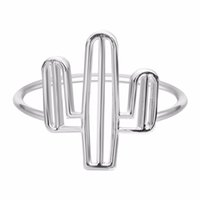 bee trees - Cacti Tree ring Insect Series Bee Cactus Gem Opening Rings For Women Brand Party Ring Jewelry