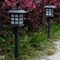 Wholesale 2 Solar Power Lamp LED Light Yard Lawn Light Party Path Outdoor Solar Light Garden Lamp