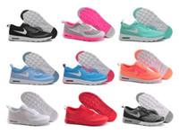 achat en gros de air max femmes-New 2016 print Thea 90 sports loisirs chaussures femmes casual chaussures jogging en plein air Running Shoes max size 5.5-8.5