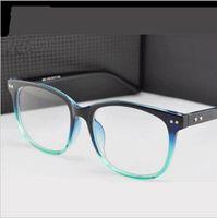 Wholesale 2016 Retro Square big frame Women myopia glasses optical frame eye glasses Women eyewear brand designer eyeglasses frame for women