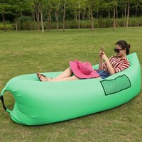best quality mattress - The Best Quality Simple Color Air Bag Camping Travel Bed Beach Sofa Chair Lounger Fast Inflatable Mattress