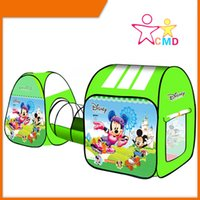 Wholesale Variety cartoon tents fun games ocean ball pool children s tent indoor climbing game