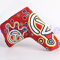 Wholesale Red Jackpot Johnny For Tour Use Only Circle T Scotty Custom Shop Golf Putter Head Covers Clubs headcover