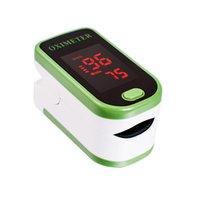 Wholesale LED Finger Pulse Oximeter Blood Oxygen Saturation Monitor SPO2 PR Display Directions finger blood pressure monitor