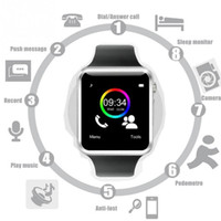"Wholesale Low Price Fitness - 2016 low price Factory Customized Manufactoring 1.54"" Touch Screen Bluetooth Smart Watch A1 DZ09 U8 Smart Phone"