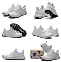 Wholesale 2016 New Ultra Shoes Fashion Men Women Shoes Omari West boost shoes All White Black Sneakers size