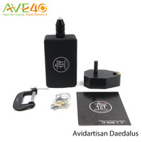 aliens set - Original Avidartisan Daedalus Alien Clapton Wire DIY Coil Jip Tool for RDA RBA Coil Jig Tool Set DHL shipping