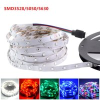Wholesale Smd 3528 Led Strip Multicolor - LED strip SMD3528 5050 5630 12V 300 LED   5M Waterproof IP65 LED string lights multicolor LED 5M   roll