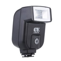 Wholesale YinYan CY Mini Universal Camera Flash Speedlite with Adjustable Pitch Angle Ideal Hot Shoe Sync Port For Flash Photograghy