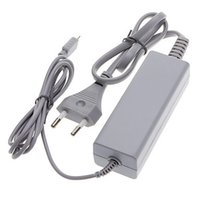 Wholesale Wii U GamePad AC Power Adapter Power Supply Wall Charger USB Charging Cable Cord for Wii U GamePad Controller US EU Plug