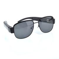 Wholesale newest mini camera sunglasse HD P Sunglasses Recorder Glasses Camera Spy Hidden Eyewear Recorder Mobile DVR suppot up to GB card