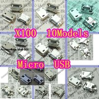 Wholesale kinds Micro USB pin Micro USB Jack Pins Micro USB Connector Tail Charging socket