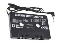 Wholesale Universal Car Audio Cassette Adapter mm Plug Audio Cable For iPhone iPod CD MP3 Phone Music Player Vehicle Audio Convertor