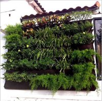Wholesale Grow Bags Hanging Wall Pot with Pages Specical Planting Bag Plant Pots for Vegetable Balcony Vegetables Vertical Wall Garden