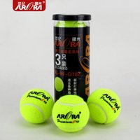 Wholesale High Resilience Tennis Ball Durable Trainning Exercise Practice Tennis Ball
