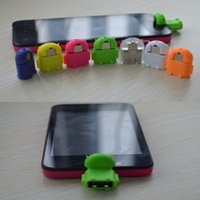 android robot usb - Android Robot Micro Mini USB Host OTG Adapter Cable for Samsung Galaxy S4 S5 S6 Note2 Xiaomi Huawei
