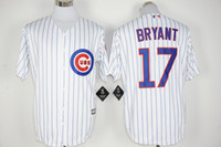 Wholesale Chicago Cubs Kris Bryant Fashion Baseball Jerseys Mens Majestic Top Selling Baseball Apparel All Style Baseball Wears