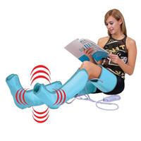 air compression therapy - Air Compression Leg Wraps Regular Massager Foot Ankles Calf Therapy Circulation stimulates the pumping action of exercise