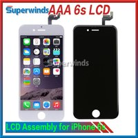 Wholesale Grade AAA Quality IPhone s LCD Display Touch Screen Digitizer full Assembly s quot Complete Screen NO PIXEL ISSUES