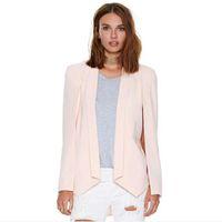 Wholesale New Summer Big Name Elegant Raglan Sleeve Suits Jacket Female Irregular No Buckle Small Suit Fashion Small Suit Vest Female