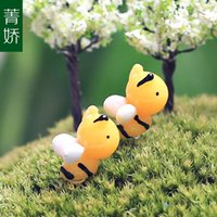 bee articles - Micro landscape handicraft furnishing articles Hard honey yellow bee DIY jewelry