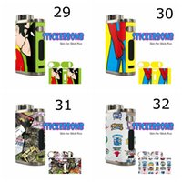 iStick Pico box mod sticker for iStick Pico  Skin Wraps Sticker for Eleaf iStick Pico 75w TC Box Mod Starter Kit Protective Film Sticker Spare Parts With Fashion 38 Pattern DHL