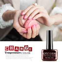 Wholesale Gel Len Temperature Change Color Gel nail polish colors Long Lasting Nail UV LED Gel Polish for Halloween