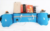 Wholesale Sports mobile phone bag water bottle sports bag men and women riding with marathon multifunc bag with the multifunctional outdoor article