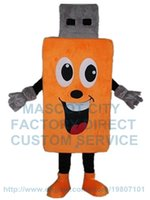 adult flash costume - Flash Memory USB mascot costume custom cartoon character cosply adult size carnival costume