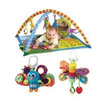 Wholesale Gymini Super Deluxe Baby Play Mat Musical Activity Mat Electronic Lights Music Baby present In stock