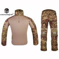 army military garment - Military Combat Gen2 BDU Uniform Full Sleeve Shirt Long Pants Set Airsoft Gear Paintball Army Tactical Garment Suit VEG