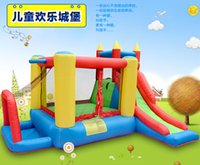 Wholesale Large Outdoor Inflatable Bouncer Jumping Sliding Playhouse Kids Child Favorite Playground