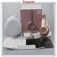 Wholesale Solo2 wireless Headphone On ear Bluetooth Headphones over Headset with sealed box solo Earphone Sport Super DJ stereo for iphone
