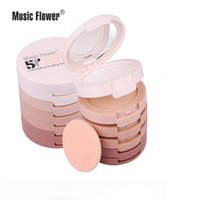 Wholesale Music Flower in Powder Concealer music took five magic powder waterproof wet and dry powder