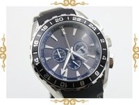 aqua brand dress - fahion brand watch men quartz Aqua Terra waches Co Axial planet ocean watch black leather belt watches men dress wristwatches