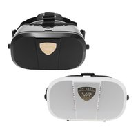Wholesale 3D VR World Glasses Head mounted Display D Glasses VR Virtual Reality Glasses VR BOX Headset D Movie VR Universal for SmartPhone