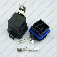 Wholesale 12V A Pin Waterproof Sealed Integrated Relay Kit Socket Car SUV Van RV Boat