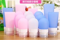 Wholesale Travel Fashion New Portable Silicone Packing Bottle Lotion Shampoo Bath Container Brand New Good Quality