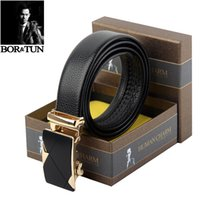 authentic designer belts - Belts New Brand Fashion Designer Leather Strap Male Automatic Buckle High Quality Belts For Men Authentic Men Belt