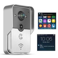 Wholesale WIFI Wireless Visual Intercom Smart Doorbell for Smartphones and Tablets