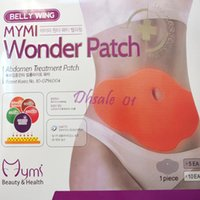 Wholesale Mymi Wonder Patch Abdomen Slimming Stick Belly Fat Burning Slim Patches pack Pack