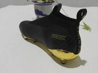 Wholesale 2016 ACE16 Purecontrol football boots Laceless soccer cleats FG AG chuteira futebol Pogba botas de futbol