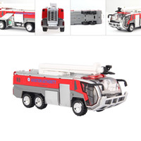 Wholesale 1 High Quality Aviation Authority SCF Fire Service Model Alloy Diecast Doors Open Model Car Toy Cars Christmas Gift